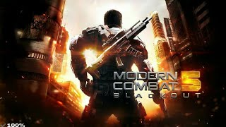 ✅||100%|| Modern Combat 5 Blackout Game Apk+ Data Download for Android in Hindi