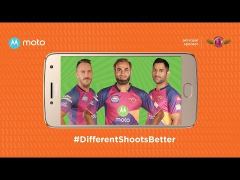 Thumbnail: different shoots better with moto & the Rising Pune Supergiant