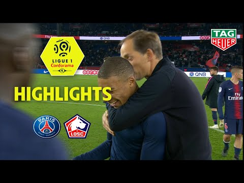 Paris Saint-Germain - LOSC ( 2-1 ) - Highlights - (PARIS - LOSC) / 2018-19