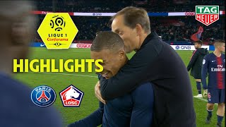 Paris Saint-Germain - LOSC ( 2-1 ) - Highlights - (PARIS - LOSC) / 2018-19