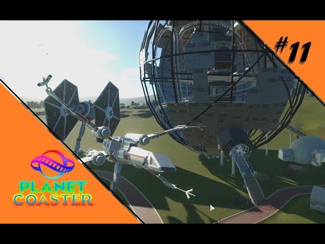 STAR WARS THEMENPARK [STEAM WORKSHOP] 🎢 Let's Play Planet Coaster #11