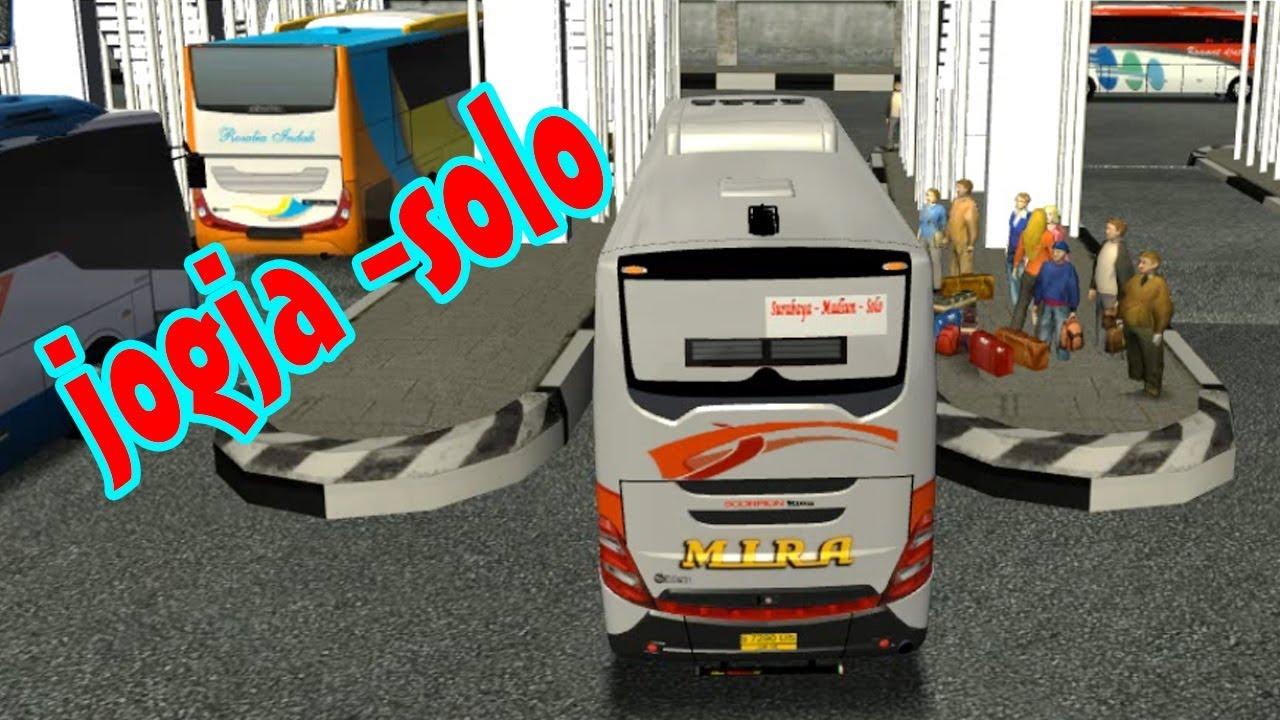 Bus simulator po mira jogja solo by panggon dolanan