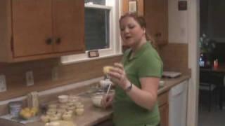 Fizzy Lemon Raspberry Cup Cakes