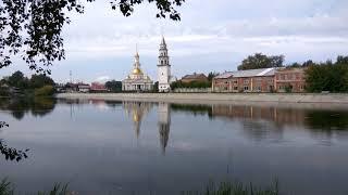 Невьянск. На берегу пруда (4K).