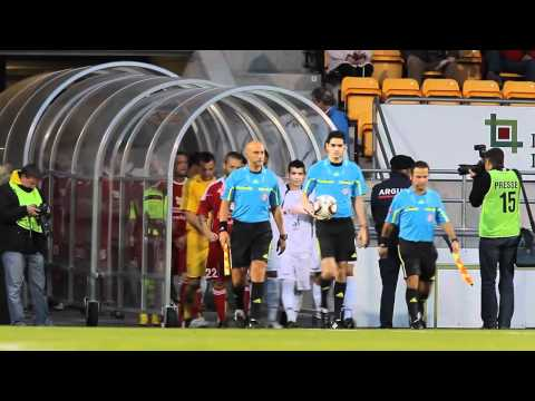 FC Vaduz - FC Lugano Einlaufen