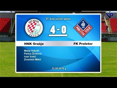 HNK ORAŠJE - FK PROLETER TESLIĆ