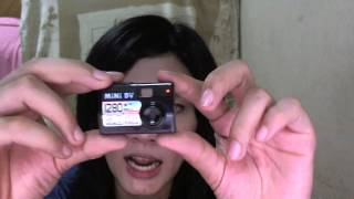 How to Use Review mini 5mp dv camera