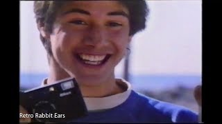 Keanu Reeves Black's Photography 1986 Commercial