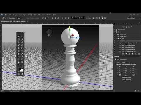 Create 3D Chess Piece