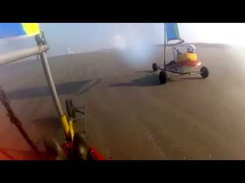 Char A Voile Fort Mahon 2013 Gopro Youtube