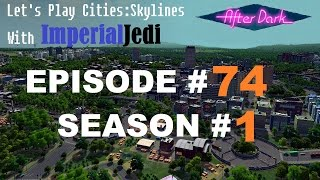Let's Play Cities: Skylines - Episode 74 - Bike Lanes