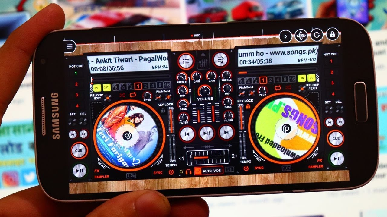best disc dj 3D music player for android (Dual Side Music Player) - Like DJ  Full Bass Songs