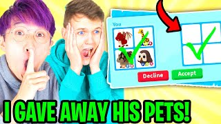 LankyBox's BEST FRIEND TRADES ALL FOSSIL EGGS In Adopt Me!? (CAUGHT!)