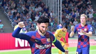 FIFA 20 Gameplay - UEFA Champions League Group Stage - Barcelona vs Inter – FIFA 20 PS4