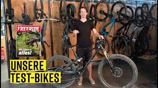 Das sind unsere Test-Bikes! (Ausgabe 3/20)