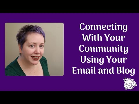 Connecting With Your Local Community Using Your Email and Blog
