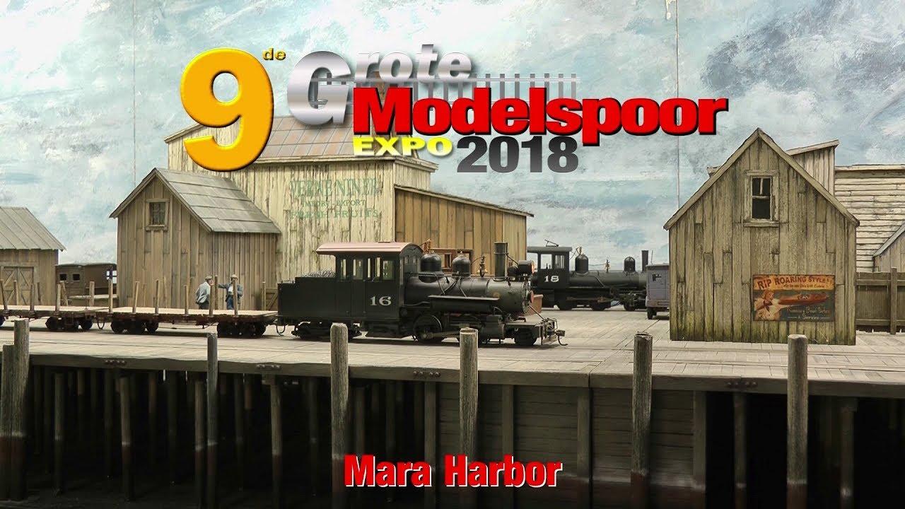 modelspoor expo 2018 mara harbor youtubemodelspoor expo 2018 mara harbor