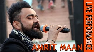 Amrit maan live performance - kauni (sri muktsar sahib) latest punjabi songs 2017
