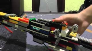 Мощная винтовка с предохранителем из лего