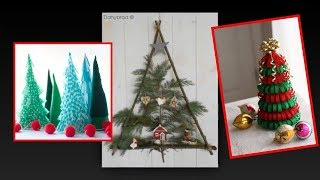 TOP 30 DIY Modern Christmas Trees (Non-Traditional)