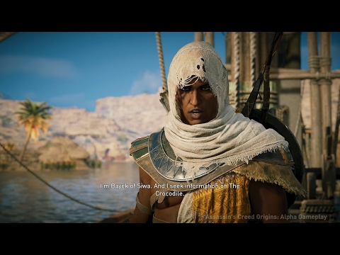 Thumbnail: 20 Minutes of Assassin's Creed Origins Open World Gameplay in 4K - E3 2017