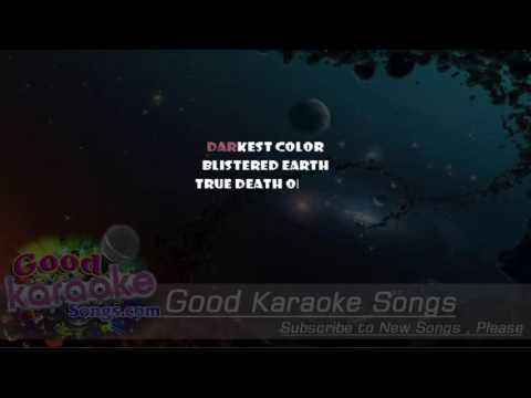 Blackened -  Metallica (Lyrics Karaoke) [ goodkaraokesongs.com ]