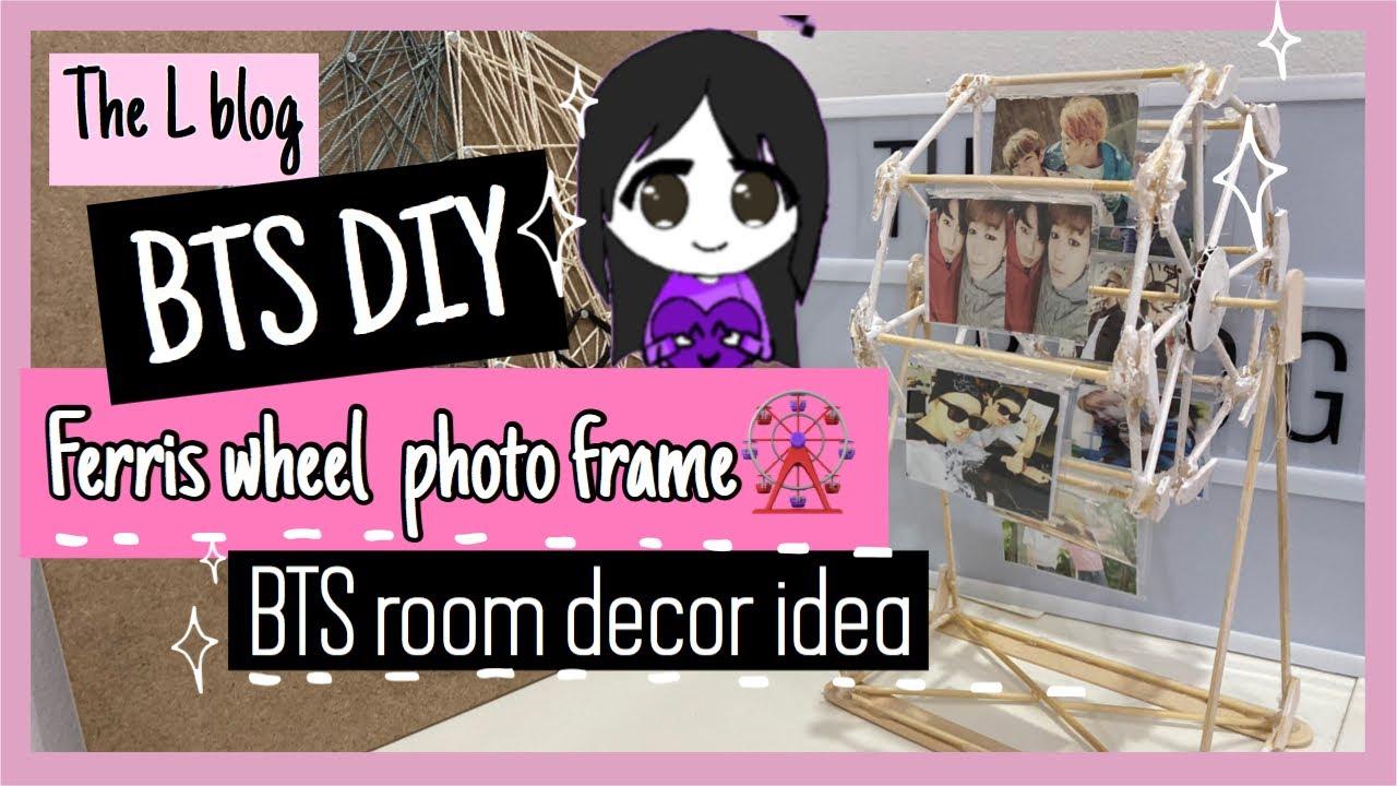 Bts Diy Room Decor Easy Aesthetic Youtube