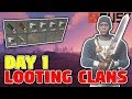 Day 1 Looting Clans Rust Solo Survival S10E01 mp3