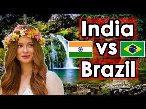 Country Comparison: INDIA vs BRAZIL (2018)