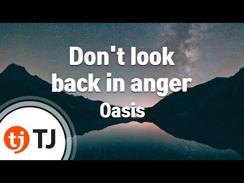[TJ노래방] Don't look back in anger - Oasis ( - ) / TJ Karaoke