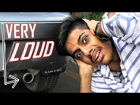How to make your CAR the LOUDEST DIY INSANE Exhaust sound