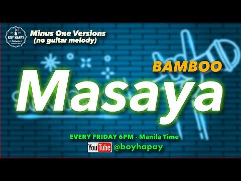 Bamboo - Masaya  (Acoustic Guitar minus one) cover