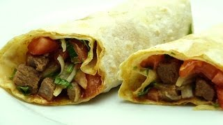 Turkish Beef Wrap Recipe - Easy Turkish Food