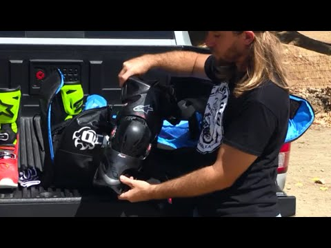 What's In My Gear Bag MX Michael Lindsay & Chaparral Motorsports ChapMoto.com