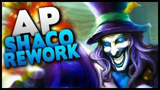 New AP Shaco rework absolutely STOMPS as a jungler! - League of Legends