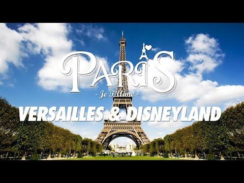 VLOG - Travelling to Paris, Disneyland & Versailles