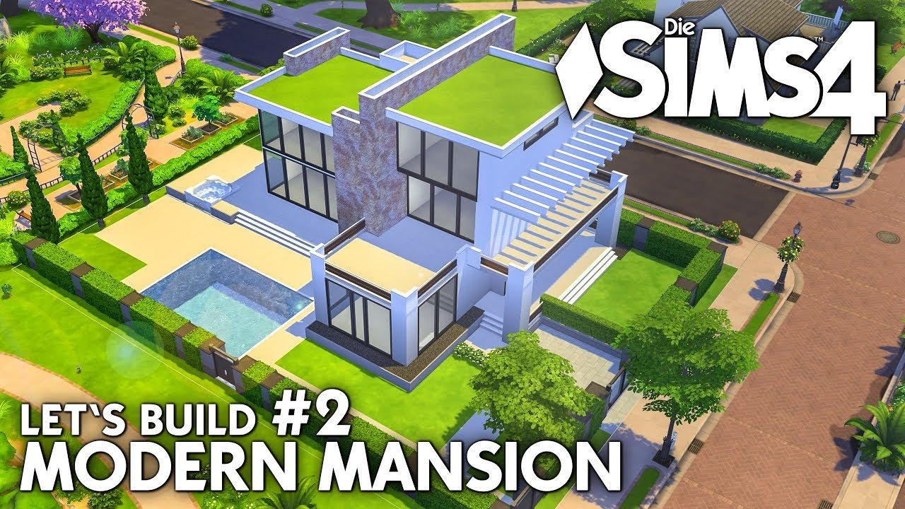 Zaun Folge 😂 | Die Sims 4 Haus Bauen | Modern Mansion #2 (deutsch)