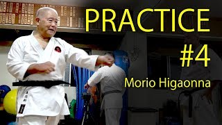 Morio Higaonna's Karate practice #4  | PUNCH&BLOCK | 東恩納盛夫先生の鍛錬その4