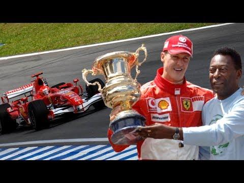 "Последняя гонка Михаэля Шумахера в ""Феррари""! Бразилия - 2006"
