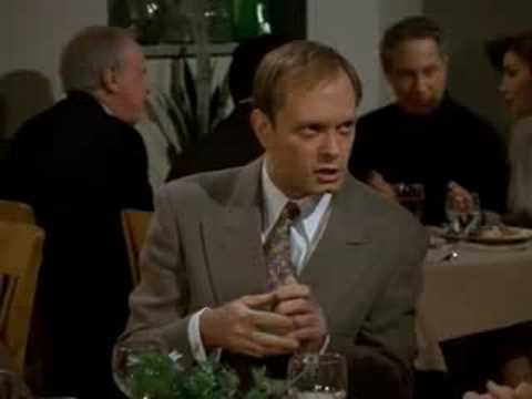 Frasier and Niles – Expensive lunch