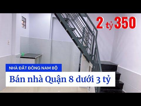 Chính chủ Bán nhà hẻm 724 Phạm Thế Hiển phường 4 Quận 8 duới 3 tỷ, cách Quận 5 chỉ 3 phút