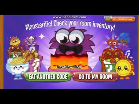 Moshi Monsters Codes 4 Floors & Doors! (Oddie Code- Description Box)