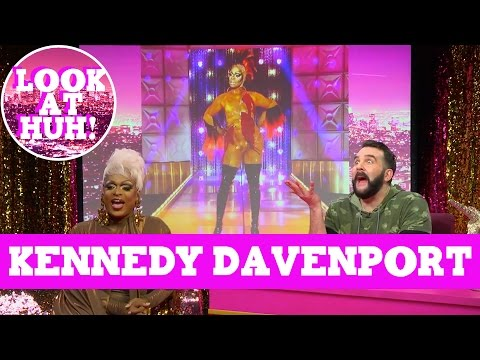 Kennedy Davenport: Look at Huh SUPERSIZED Pt 1 on Hey Qween! with Jonny McGovern | Hey Qween Mp3