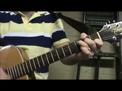 How To Play Run Around By Blues Traveler On Acoustic Guitar Made