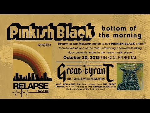 """PINKISH BLACK - """"Bottom of the Morning"""" (Official Track)"""