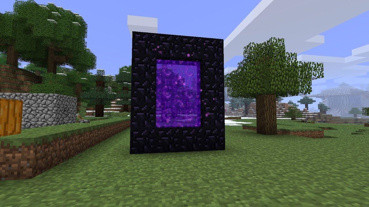 Minecraft Hayatta Kalma  - Nether(Cehennem) Portalı