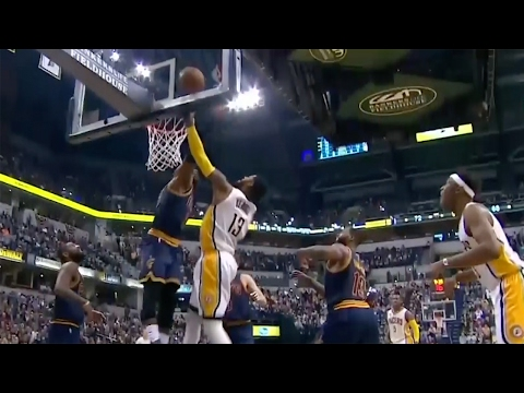 LeBron James Viciously STUFFS Paul George for 800th Block, Kyle Korver Bombs 3s From EVERYWHERE