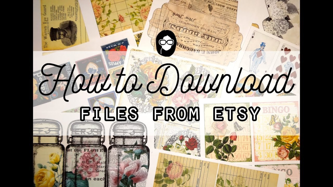 photograph about Etsy Printable known as How in direction of Down load Printable Data files against Etsy - Tsunamirose