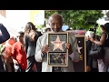Clarence Avant - Walk of Fame Ceremony