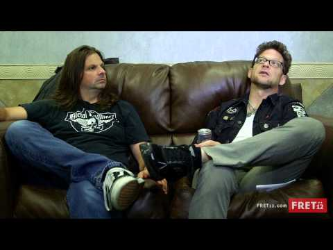 FRET12 Artist Connect with Jason Newsted and Mike Mushok from Newsted